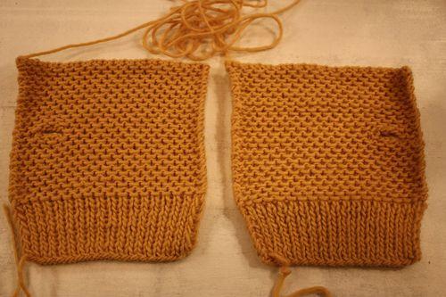 tricoter en vis a vis