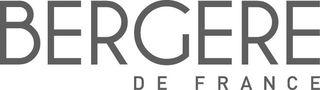 Logo Bergère de France